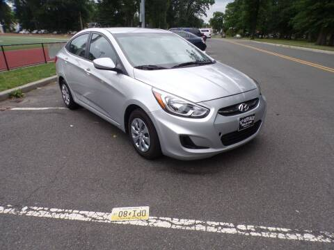 2015 Hyundai Accent for sale at TJS Auto Sales Inc in Roselle NJ