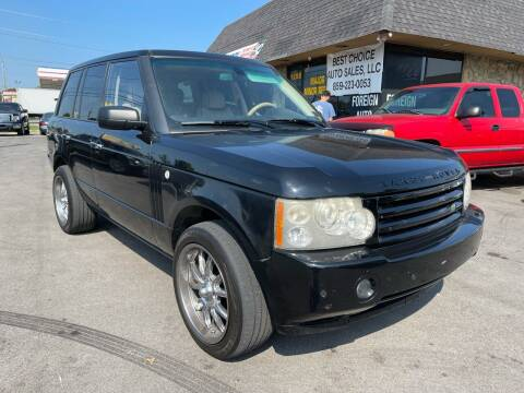 2008 Land Rover Range Rover for sale at Best Choice Auto Sales in Lexington KY
