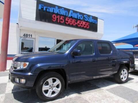 2013 Honda Ridgeline for sale at Franklin Auto Sales in El Paso TX