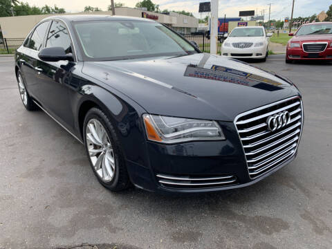 2014 Audi A8 for sale at Summit Palace Auto in Waterford MI