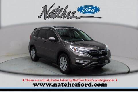 2015 Honda CR-V for sale at Auto Group South - Natchez Ford Lincoln in Natchez MS