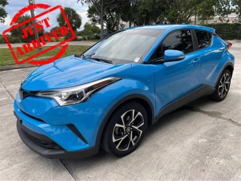 2019 Toyota C-HR for sale at Florida Fine Cars - West Palm Beach in West Palm Beach FL