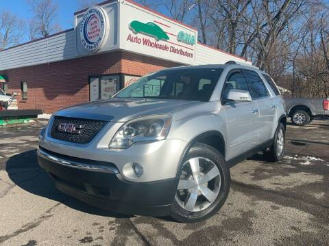 2011 GMC Acadia for sale at GMA Automotive Wholesale in Toledo OH