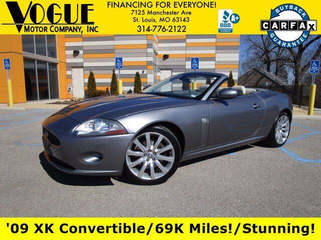 2009 Jaguar XK for sale at Vogue Motor Company Inc in Saint Louis MO