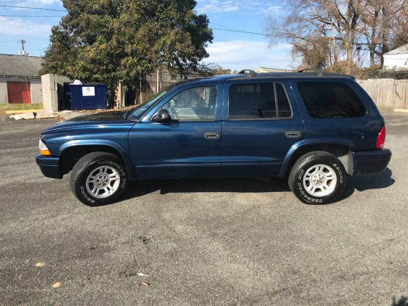 2003 Dodge Durango for sale at Mike's Auto Sales of Charlotte in Charlotte NC