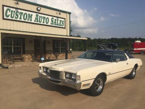 1972 Ford Thunderbird for sale at Custom Auto Sales - AUTOS in Longview TX