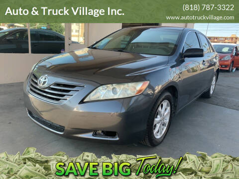2009 Toyota Camry for sale at Auto & Truck Village Inc. in Van Nuys CA