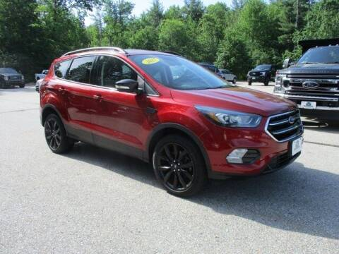 2017 Ford Escape for sale at MC FARLAND FORD in Exeter NH