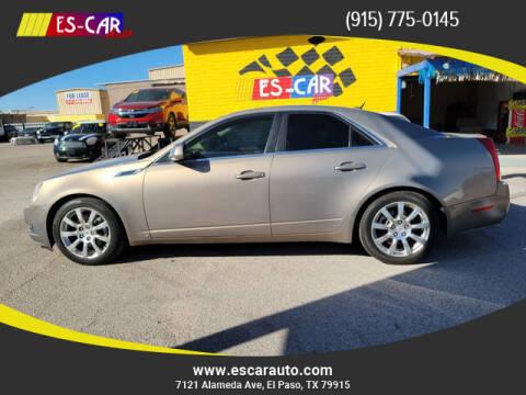 2008 Cadillac CTS for sale at Escar Auto in El Paso TX