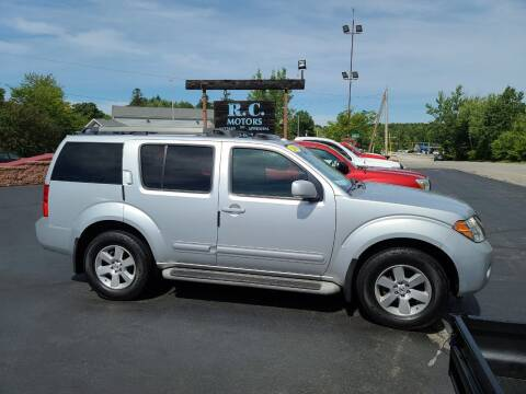 2008 Nissan Pathfinder for sale at R C Motors in Lunenburg MA