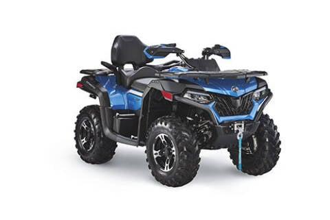 2021 CF Moto C600 Touring blue for sale at Power Edge Motorsports- Millers Economy Auto in Redmond OR