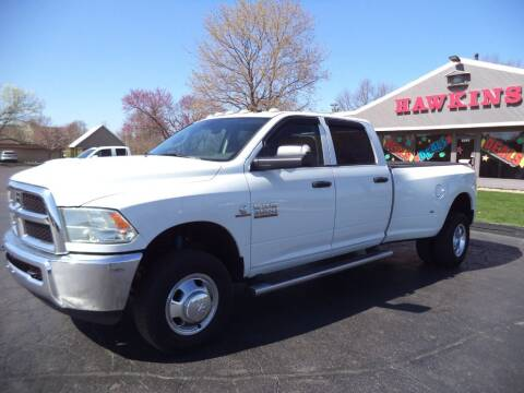 2016 RAM Ram Pickup 3500 for sale at Hawkins Motors Sales - Lot 1 in Hillside MI