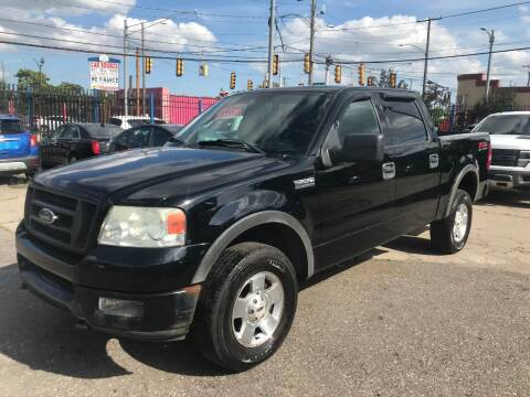 2004 Ford F-150 for sale at SKYLINE AUTO in Detroit MI