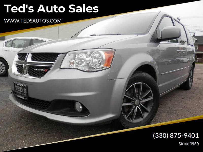 2017 Dodge Grand Caravan for sale at Ted's Auto Sales in Louisville OH