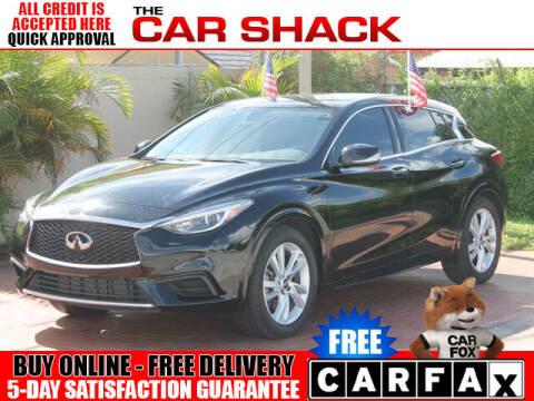 2018 Infiniti QX30 for sale at The Car Shack in Hialeah FL