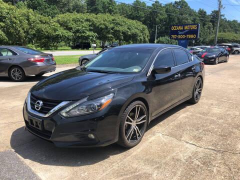2017 Nissan Altima for sale at Oceana Motors in Virginia Beach VA