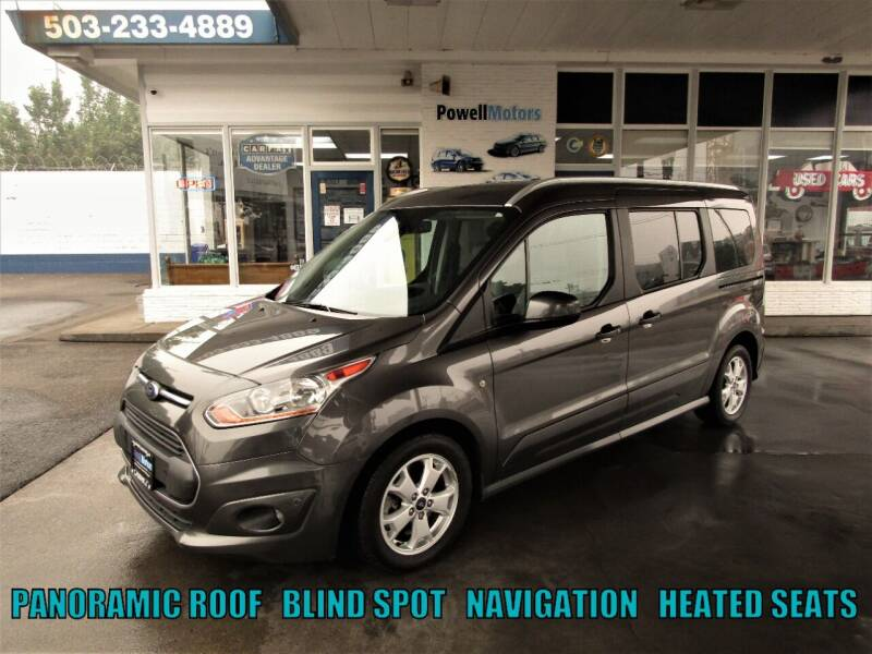 2017 Ford Transit Connect Wagon for sale at Powell Motors Inc in Portland OR