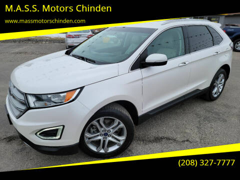 2015 Ford Edge for sale at M.A.S.S. Motors Chinden in Garden City ID