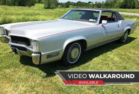 1970 Cadillac Eldorado for sale at AB Classics in Malone NY