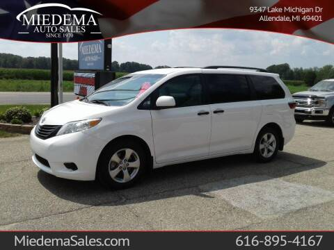 2017 Toyota Sienna for sale at Miedema Auto Sales in Allendale MI