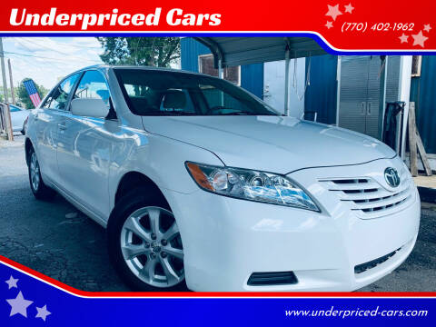 2009 Toyota Camry for sale at Underpriced Cars in Marietta GA