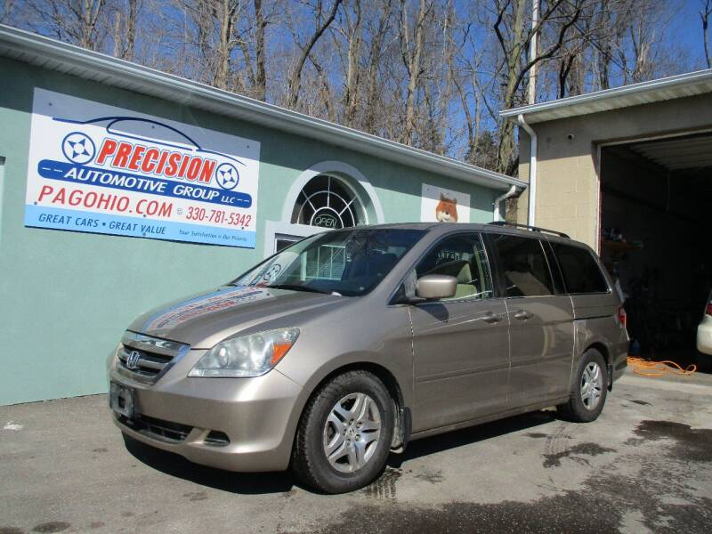 2007 Honda Odyssey for sale at Precision Automotive Group in Youngstown OH