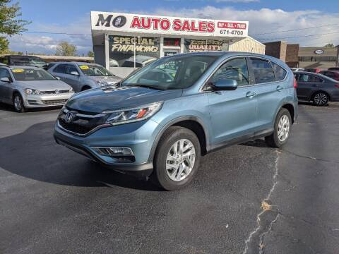 2015 Honda CR-V for sale at Mo Auto Sales in Fairfield OH