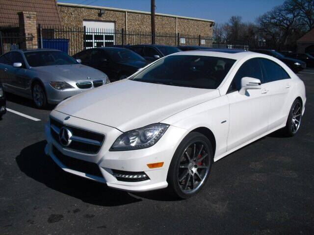 2012 Mercedes-Benz CLS for sale at German Exclusive Inc in Dallas TX
