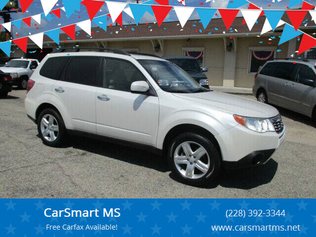 2010 Subaru Forester for sale at CarSmart MS in Diberville MS