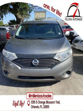 2013 Nissan Quest for sale at Millenia Auto Sales in Orlando FL