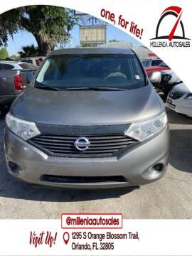 2013 Nissan Quest for sale at Millenia Auto Sales in Orlando FL