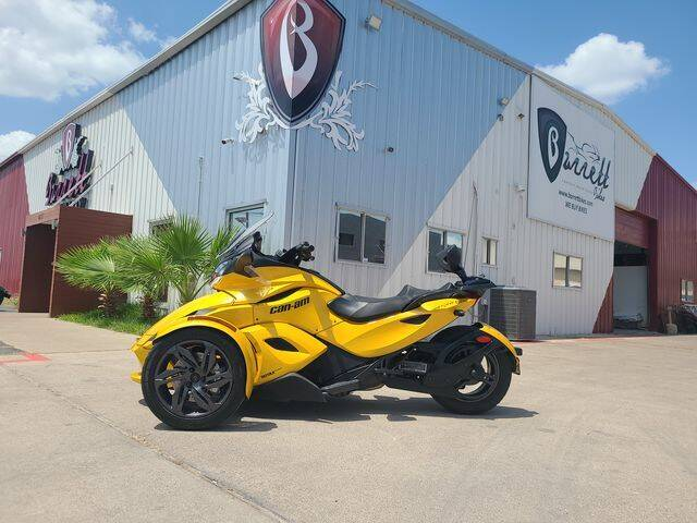 2013 Canam Spyder for sale at Barrett Auto Gallery in San Juan TX