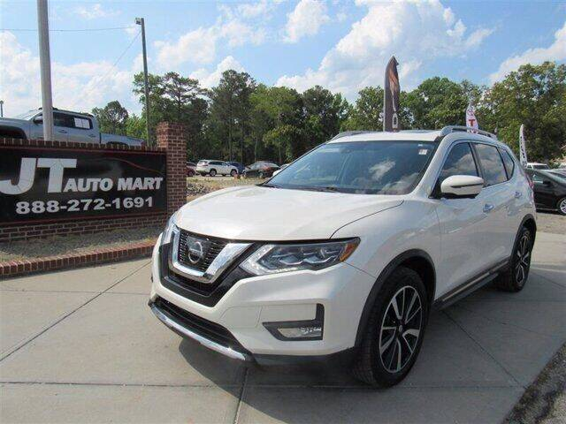 2017 Nissan Rogue for sale at J T Auto Group in Sanford NC