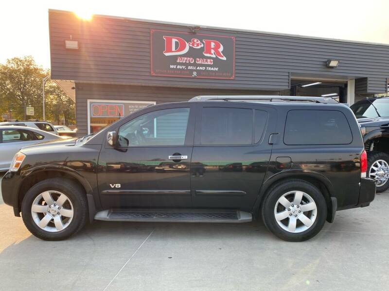 2008 Nissan Armada for sale at D & R Auto Sales in South Sioux City NE