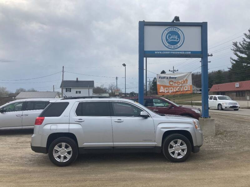2011 GMC Terrain for sale at Corry Pre Owned Auto Sales in Corry PA