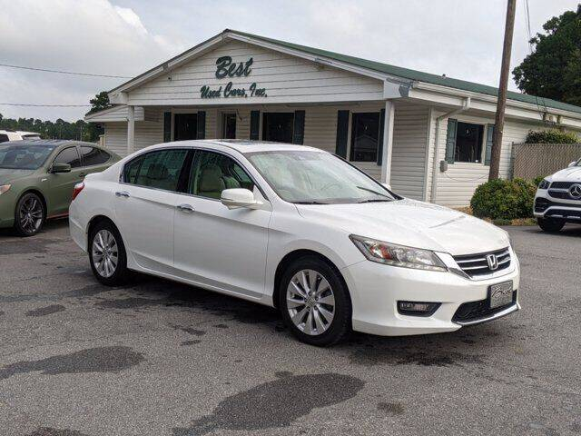 2015 Honda Accord for sale at Best Used Cars Inc in Mount Olive NC