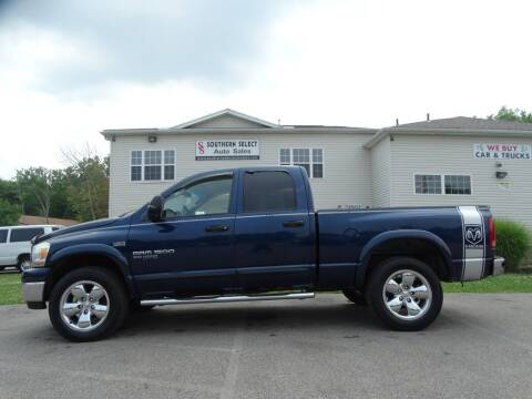 2006 Dodge Ram Pickup 1500 for sale at SOUTHERN SELECT AUTO SALES in Medina OH