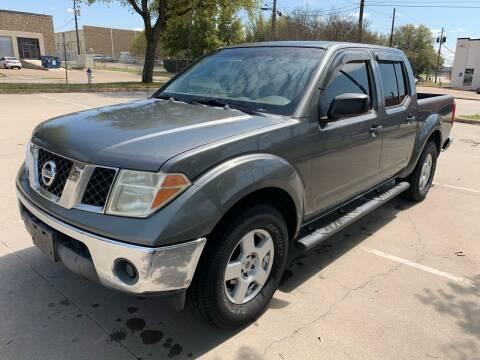 2006 Nissan Frontier for sale at Vitas Car Sales in Dallas TX