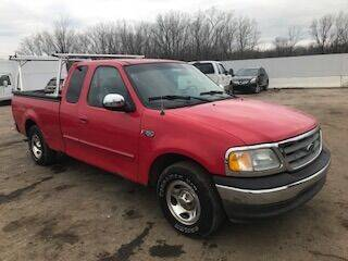 2002 Ford F-150 for sale at WELLER BUDGET LOT in Grand Rapids MI