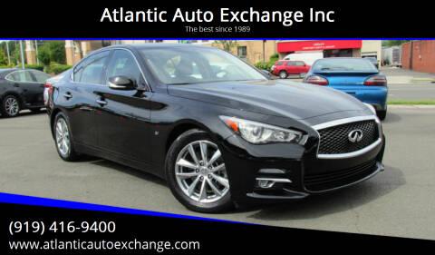 2014 Infiniti Q50 for sale at Atlantic Auto Exchange Inc in Durham NC