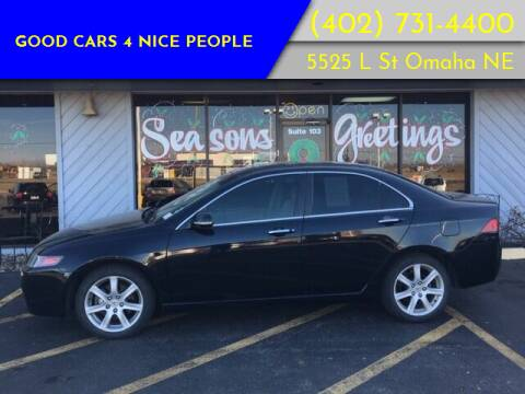 2005 Acura TSX for sale at Good Cars 4 Nice People in Omaha NE