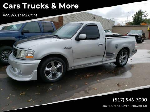 2002 Ford F-150 SVT Lightning for sale at Cars Trucks & More in Howell MI