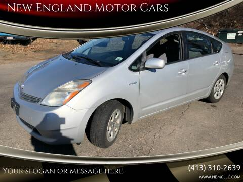 2007 Toyota Prius for sale at New England Motor Cars in Springfield MA