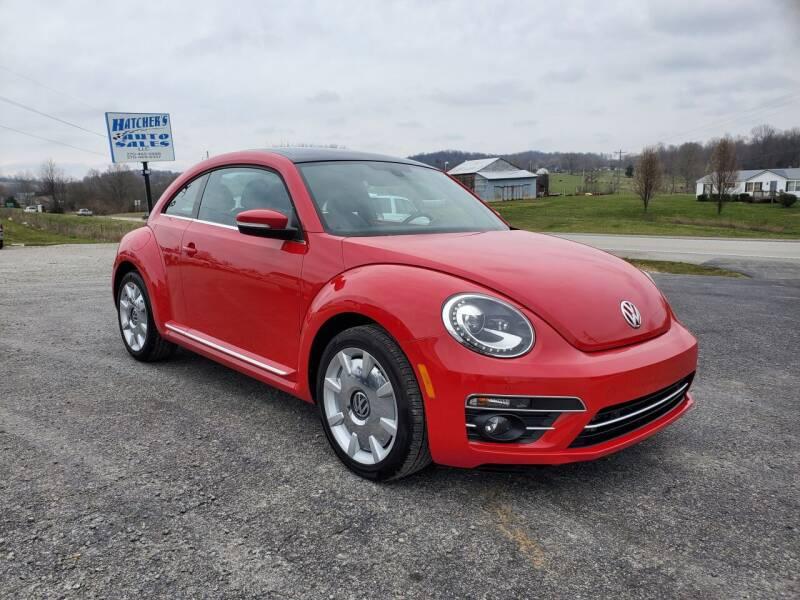 2019 Volkswagen Beetle for sale at Hatcher's Auto Sales, LLC in Campbellsville KY