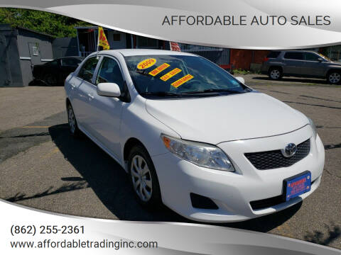 2009 Toyota Corolla for sale at Affordable Auto Sales in Irvington NJ
