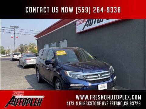 2016 Honda Pilot for sale at Fresno Autoplex in Fresno CA