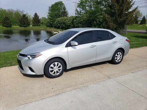 2014 Toyota Corolla for sale at Exclusive Automotive in West Chester OH