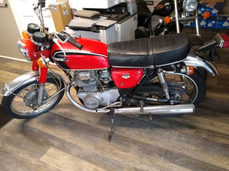 1970 Honda CB350 for sale at Washington Street Auto Sales in Canton MA
