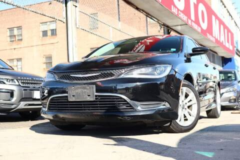 2016 Chrysler 200 for sale at HILLSIDE AUTO MALL INC in Jamaica NY