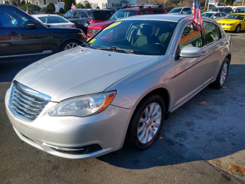 2012 Chrysler 200 for sale at Washington Street Auto Sales in Canton MA